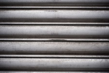 Dirty, wet metal surface ( aluminum) as a background motive Stock Photo - 6071940