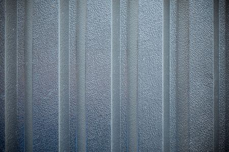Vertically  structured metal surface as a background motive Stock Photo - 6101967