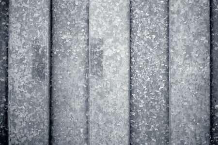 Vertically  structured metal surface as a background motive Stock Photo - 6101970