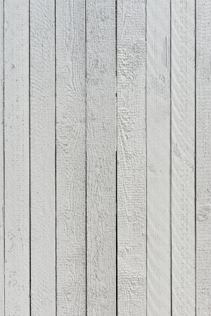 White wooden wall, background structure, high resolution photo Stock Photo - 20287974