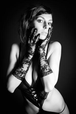 Resultado de imagen para beautiful woman underwear in the dark