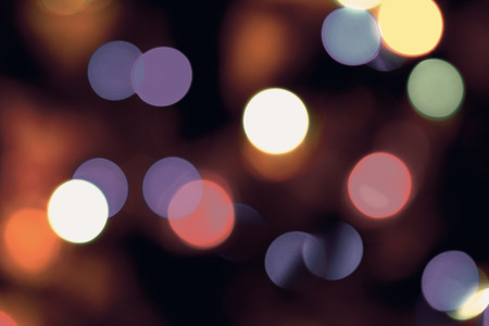leuchtend: verschwommenes Licht glühen, Bokeh-Effekt