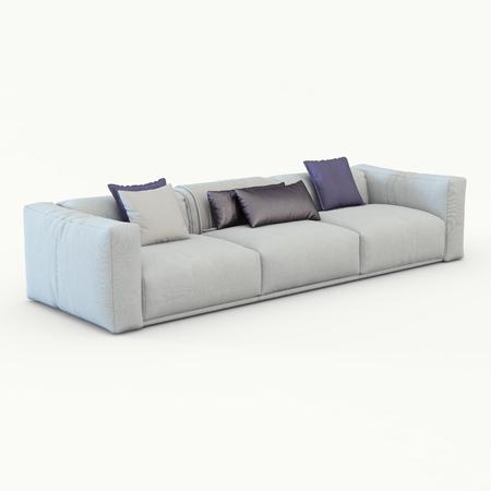 photoreal: Sofa cloth Stock Photo
