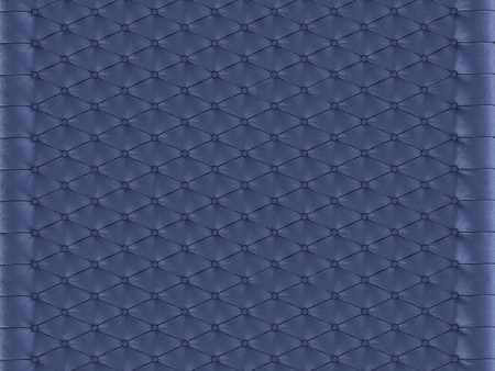 Wall panel blue capitone on a white background 3d rendering Stock Photo