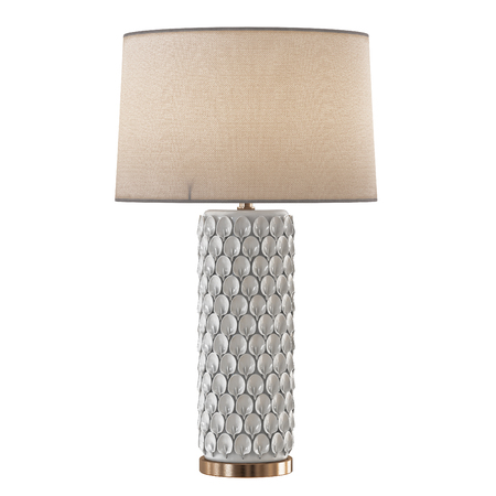 Beautiful decorative table lamp isolated background 3d rendering