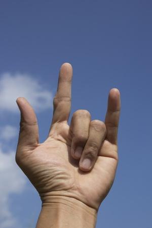 hand I LOVE You