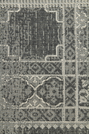 Close up of a woven rug as a contemporary background Stock Photo - 18725047