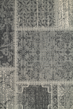 Close up of a woven rug as a contemporary background Stock Photo