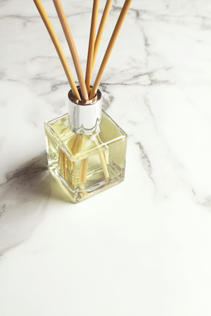 air diffuser: Aromatherapy reed diffuser air freshener with space for text below