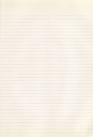 An old, yellowed piece of paper with brown lines
