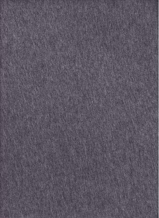 A macro shot of gray T-shirt fabric