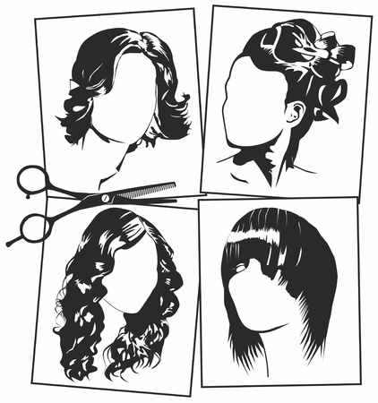 hair cut: women
