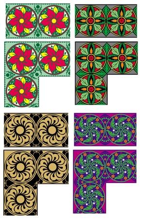 sophistication: ornamento del color para la decoraci�n