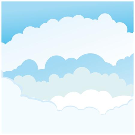 padded: vector background sky