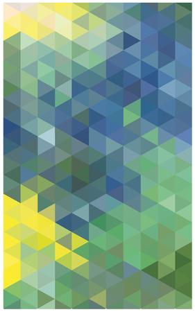 substrate: vector de fondo abstracto de tri�ngulos de colores Vectores