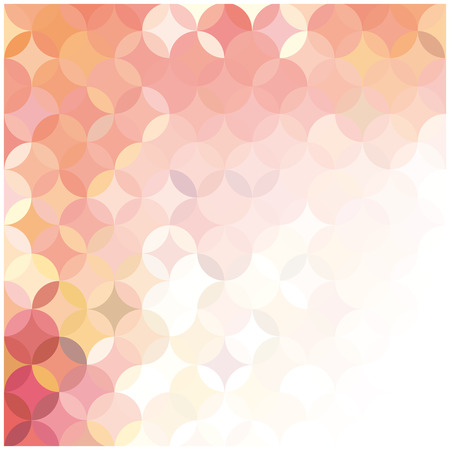vector abstract background of colored circles  Vector
