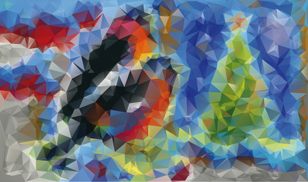 vector abstract color background