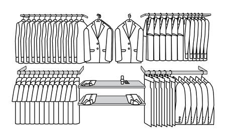 regiment: simple picture shelves Illustration
