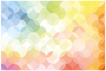 bright yellow and pink background. mosaic abstraction. vector image