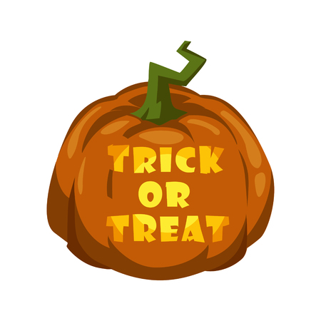 Trick or treat. Halloween. vector illustration Illustration