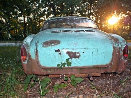 rusty car: Rusty car