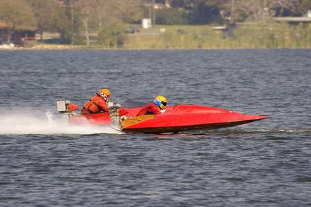 Raceboat Stock Photo
