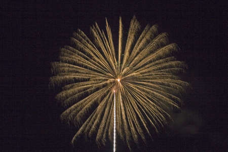 4th of July fireworks Stock Photo
