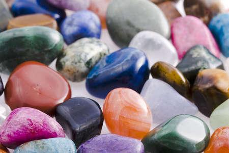 Colored rock