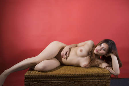 Nude Girl Stock Photo