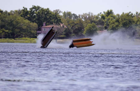 Race Boat Crash
