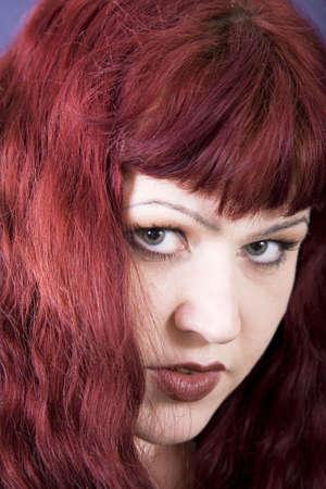 Redheaded girl Imagens