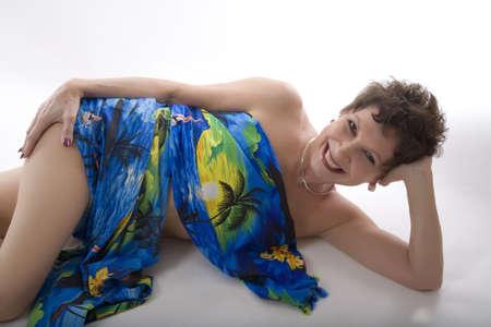 aging woman: Woman Stock Photo