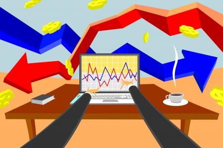 Make Money Stock Vector - 18623856