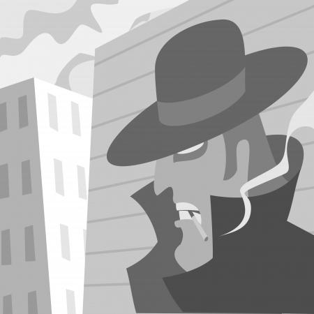 suspicious: Suspicious man