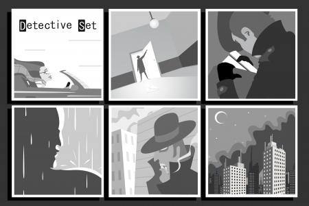 gangster girl: DetectiveSet