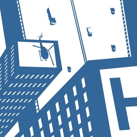 Modern city Illustration