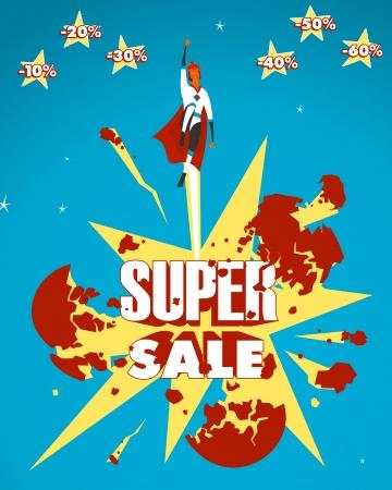 Super sale Stock Vector - 22966783