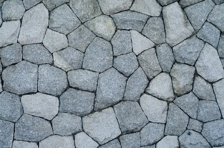 Stony gray wall background