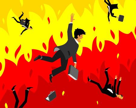 capitalismo: Colapso do capitalismo Ilustração