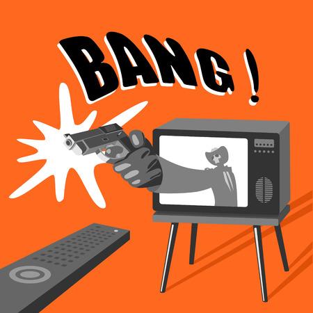 Dangerous TV Illustration