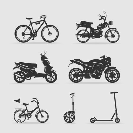 motor bike: Symbol transport Illustration