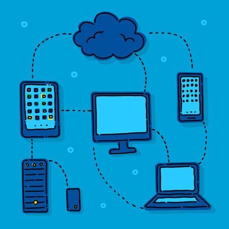 flujo de datos: Flujo de datos en un mundo moderno de alta tecnolog�a