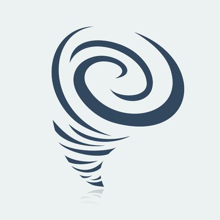 tornado wind: Hurricane symbol