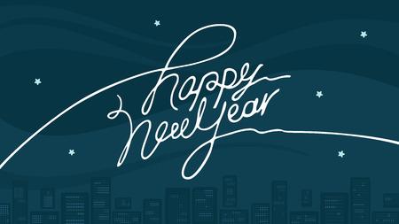 inscription: Inscription happy new year
