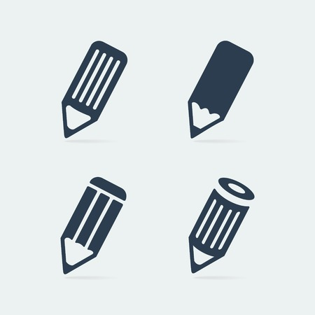 edit icon: Symbol set pen eps 8 file format