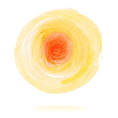 Watercolor Circle Ilustracja