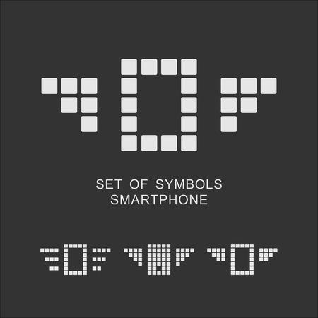 gadget: Ensemble de symboles Gadget Illustration