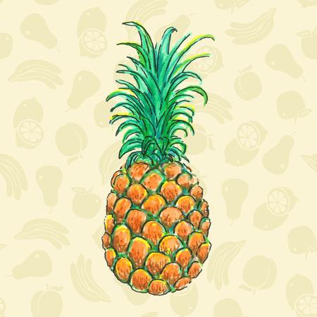 marker: Pineapple Drawing Marker