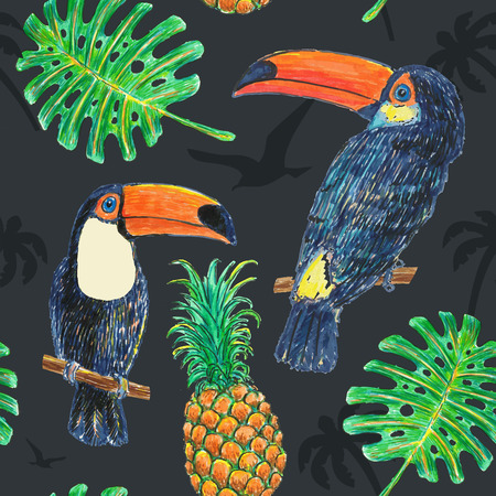 tucan: Pattern Toucan Drawing Marker