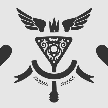 vector symbol: Vector Symbol Balalaika eps 8 file format